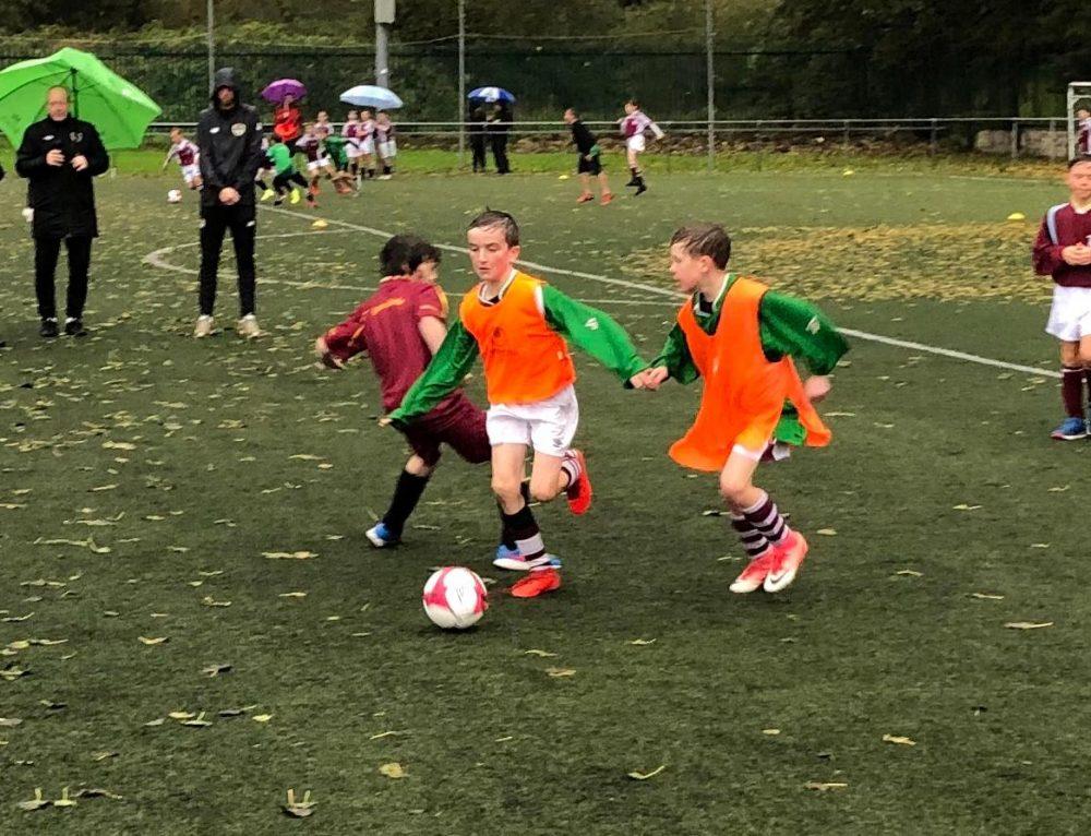 4th Class Soccer Blitz